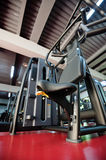 Modern gym interior with equipment Royalty Free Stock Photo
