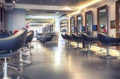 Modern hårsalong arkivbilder