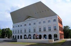Modern högskolabyggnad i Estland Arkivfoto