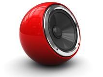 modern högtalare Arkivbild