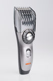 Modern hair style cutter. Withe background stock images