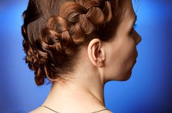 Modern hairdo Stock Photos