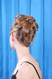 Modern hairstyle Stock Photography