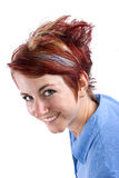 Modern Hairstyle Royalty Free Stock Photos