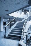 Modern hall. Inside office centre Royalty Free Stock Images