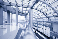 Modern hall Stock Images
