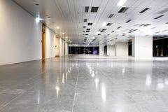 Modern hall. And nobody image at night Stock Photos