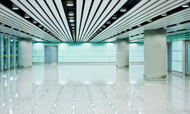 Modern hall. The modern hall in building Royalty Free Stock Photos