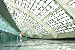 Modern hall. In T3 airport of beijing Stock Photography
