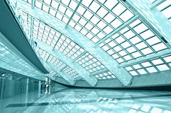Modern hall. Inside in the beijing airfield stock photography