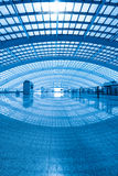 Modern hall of beijing airport express station Royalty Free Stock Photos