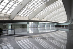 Modern hall in beijing T3 airport Stock Photos