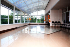 Modern hall for event Stock Photography