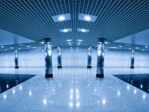 Modern hall inside Stock Photos
