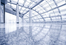 Modern hall inside office center Royalty Free Stock Image