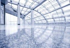 Modern Hall Inside Office Center Royalty Free Stock Image