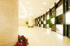 Modern hall inside office center Stock Images
