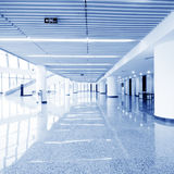 Modern hall inside office center Stock Image