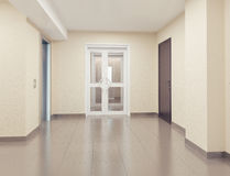 Modern hall interior Royalty Free Stock Photo