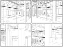 Free Modern Hall Vector 09 Stock Photography - 25514902