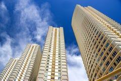Modern Hallo-Steigen Wohnungen Lizenzfreies Stockfoto