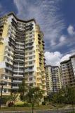 Modern Hallo-Steigen Wohnungen Lizenzfreies Stockbild