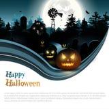Modern Halloween background Stock Photos