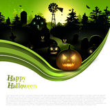 Modern Halloween background Royalty Free Stock Photo
