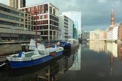 Modern Hamburg Stock Image