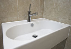 Modern hand wash basin Stock Images