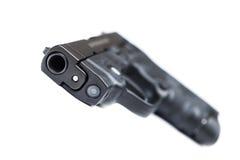 Modern handgun Stock Photo