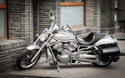 Modern Harley-Davidson moped Royaltyfri Fotografi