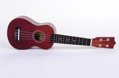 Modern Hawaiian guitar with four strings Royalty Free Stock Photo