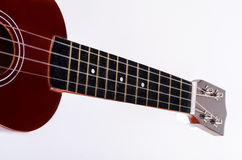Modern Hawaiian guitar with four strings Stock Image