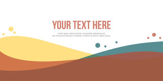 Modern header website abstract background. Vector art Stock Photography