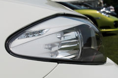 Modern headlamp detail Royalty Free Stock Photos