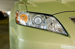 Modern headlight Royalty Free Stock Image