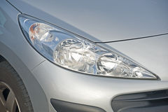 Modern headlight cluster. Royalty Free Stock Image