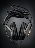 Modern headphones Royalty Free Stock Photography