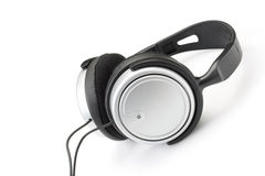 Modern headphones Royalty Free Stock Image