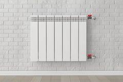 Modern Heating Radiator Stock Photography