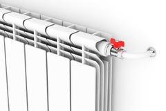 Modern Heating Radiator Royalty Free Stock Image