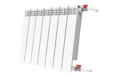 Modern Heating Radiator Royalty Free Stock Images