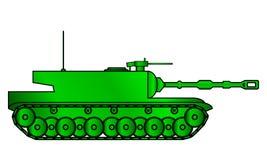 Modern heavy tank Stock Image