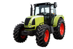 Modern heavy tractor. Modern heavy tractor isolated on a white background Stock Photo