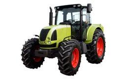 Modern heavy tractor. Modern heavy tractor isolated on a white background stock photo