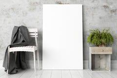 Modern helder binnenland 3d geef terug Royalty-vrije Stock Foto's
