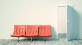 Modern helder binnenland 3d geef terug Stock Fotografie