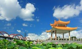 modern helg för kinesisk stadselevator Royaltyfri Bild