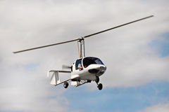 Modern helicopter Stock Image